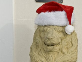 Christmas Lion 1500 pixel