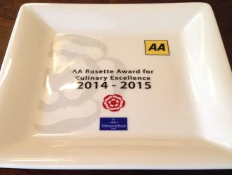 2015 Rosette Award Plate only