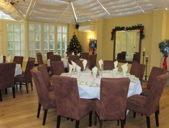 Christmas in conservatory 1