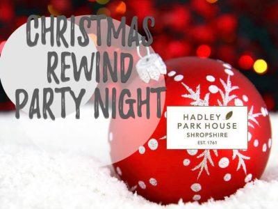 christmas rewind party night